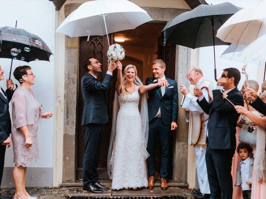 Braut-Regenschirm-weiß-elegant—2-Stück